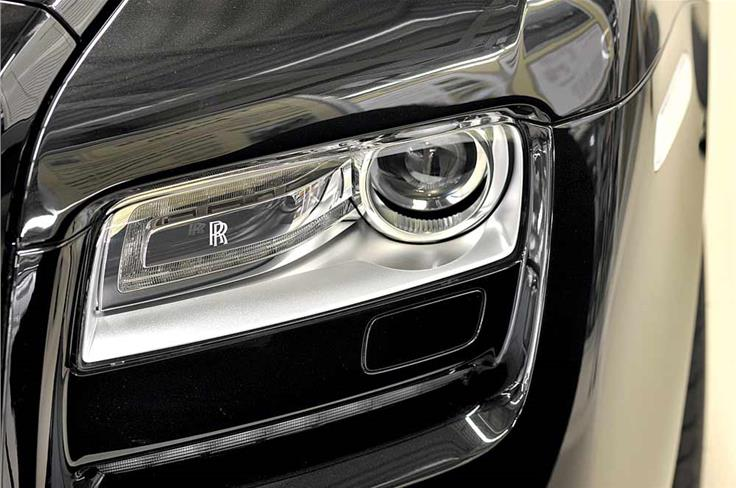 May 2011: THE PRICE OF LUXURY - You'll need insanely deep pockets to buy these 'optional' headlights for the Rolls-Royce Ghost.  While these cost a whopping Rs 3.8 lakh, there's no limit really on how far you can go when it comes to pimping up your luxurious set of wheels.