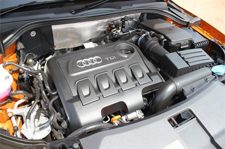 2-litre diesel engine similar to the one used in the VW Passat