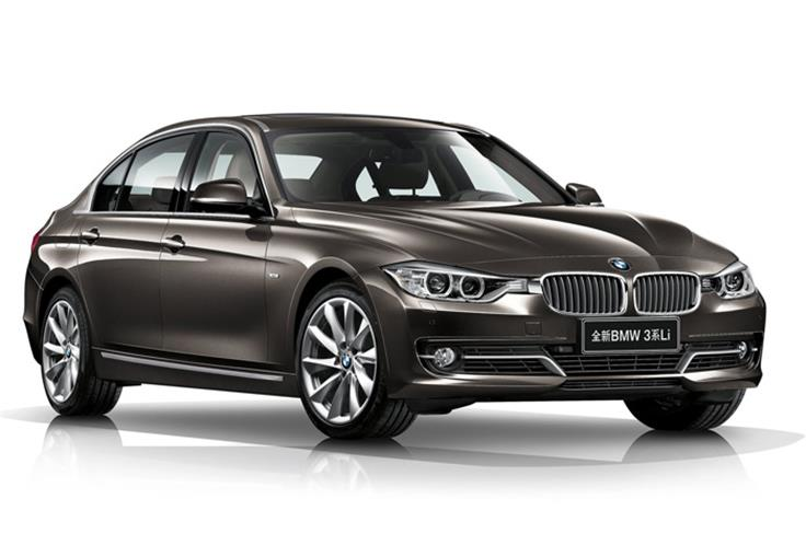 The LWB 3-series an extend wheelbase extended by 110mm as compared with the standard car.