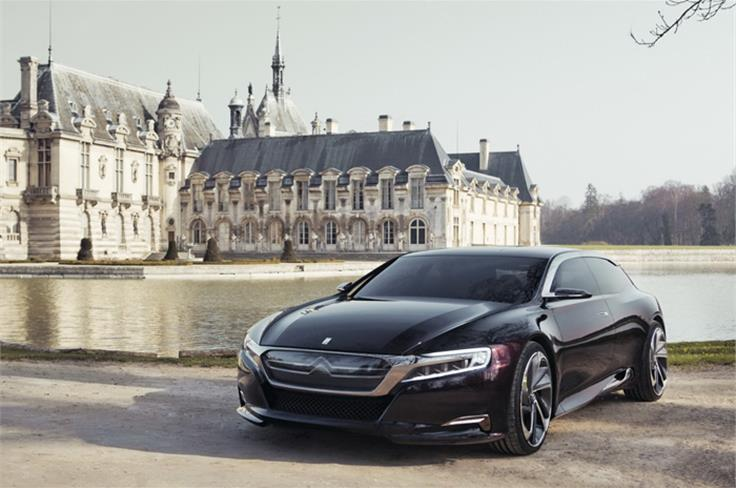 Citroen unveiled the all-new Numero 9 Concept at the Beijing Motor Show.