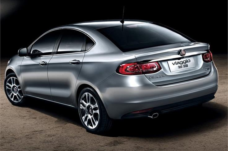 The Viaggio is based on the US-Market Dodge Dart.