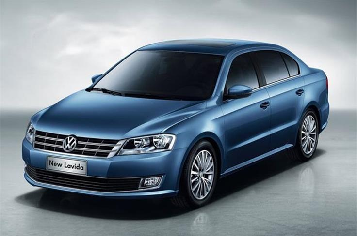 Volkswagen unveiled the all-new Lavida saloon.