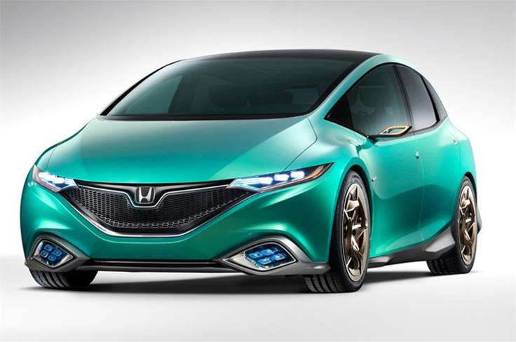 Honda has showcased the Concept S. It is a global concept model of a new-value passenger mover that was developed primarily for the Chinese market and will go on sale first in China.