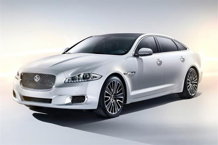 This is the Jaguar XJ Ultimate.  Based exclusively on the long-wheelbase XJ, the interior changes applied to the Ultimate focus on the rear accommodation, extending the car's limousine remit to provide a fully-appointed luxury business class experience for the most discerning of global customers.