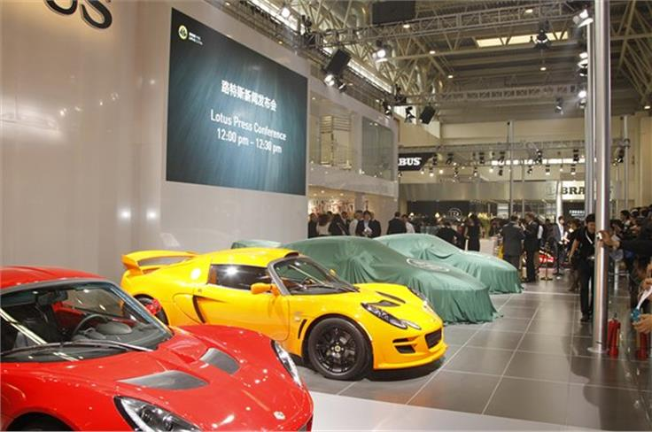Lotus had great success in China recently selling all examples of its Evora GTE