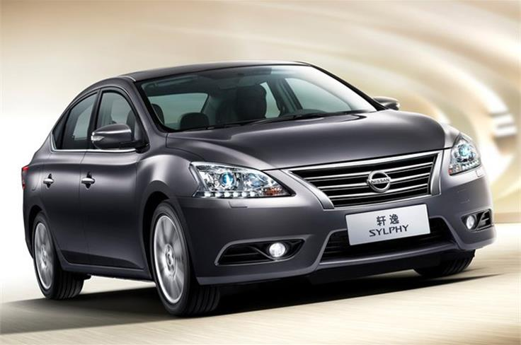 The Nissan Sylphy New-G is described as an-all new global saloon, but it previews the next Sylphy