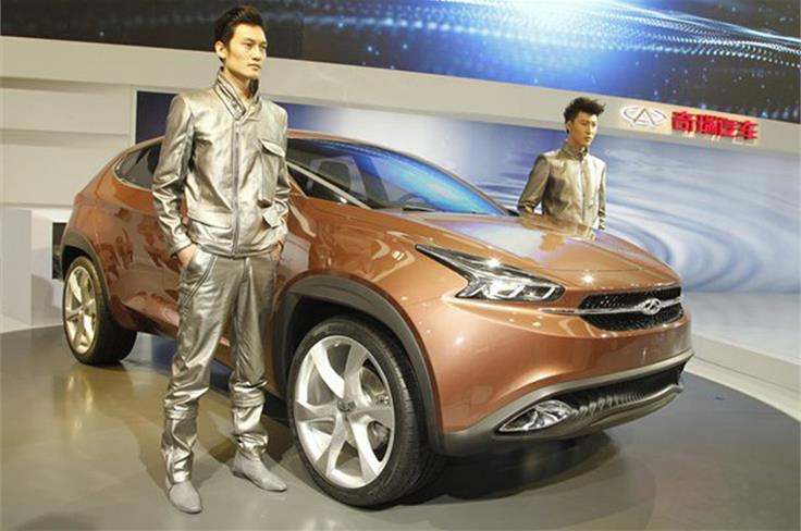 The Chery TX is perhaps the most credible design yet from a Chinese car maker