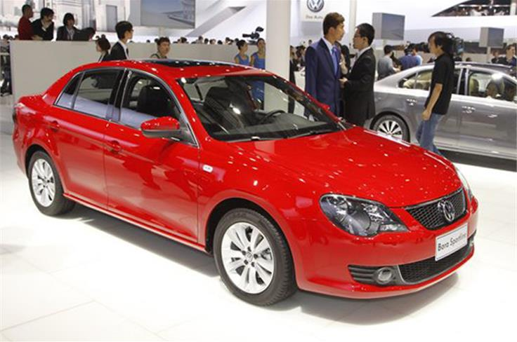 The VW Bora lives on in China and is the work of a joint venture between FAW and VW