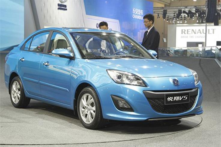 The Chang'an V5 saloon is a compact Mazda 3 lookalike that's offered with 1.5 and 1.8 petrol engines
