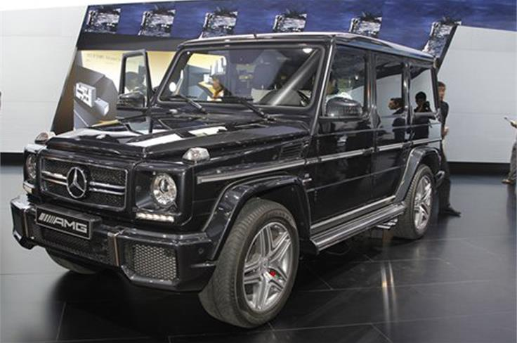 Two new AMG versions - G63 and G65 - of Mercedes' G-class launched at Beijing