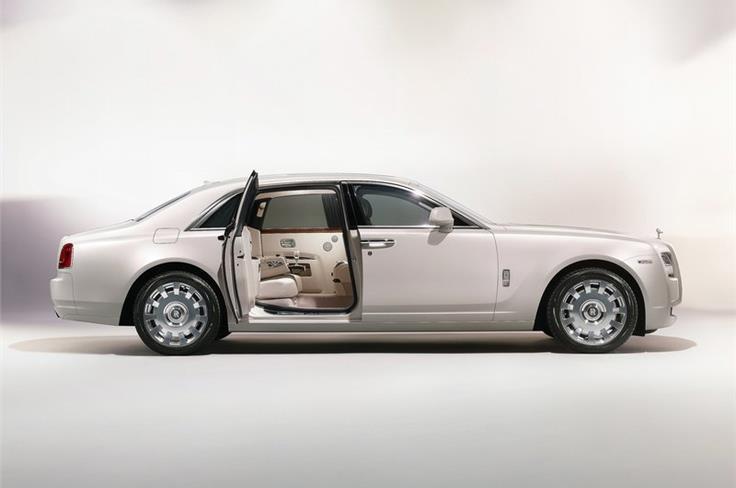 "The Rolls Royce Ghost ""Six-senses concept""."
