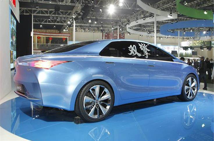 There are no production plans, but it will inspire a plug-in hybrid for 2015