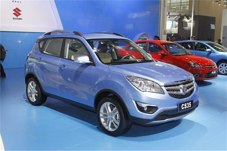 Chang'an's new CS35 is similar in size to the Hyundai ix35 and will make production in Q3