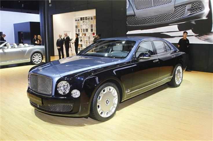 Bentley is creating 60 special edition Mulsannes to celebrate the Queen's diamond jubilee.