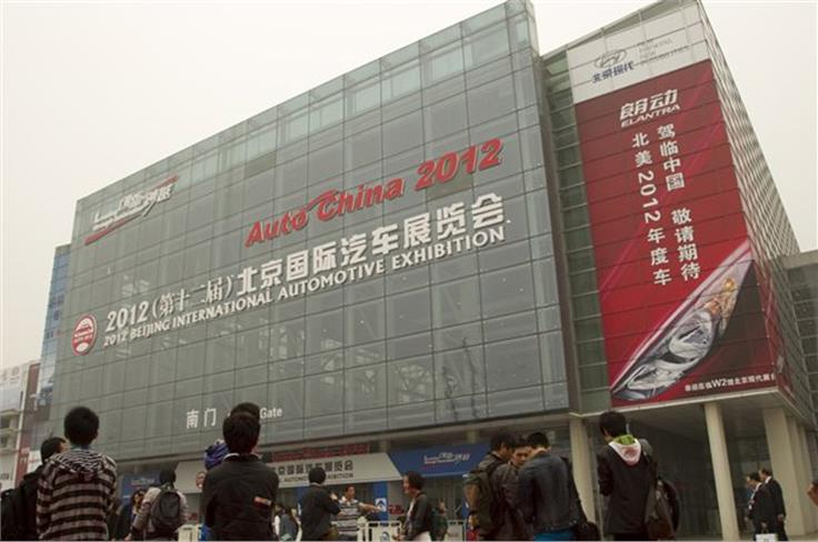 A new hall has been built at the conference centre to house the ever-expanding auto show