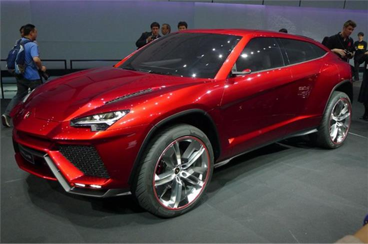 This is the the Lamborghini Urus Concept. According to Lamborghini, the Urus combines unique design, a fascinating interior and outstanding performance with versatility and everyday usability.
