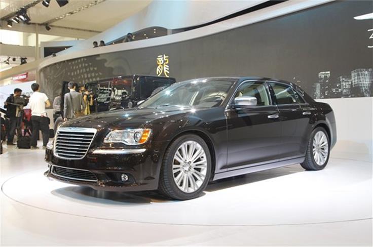"""The Chrysler 300 """"Ruyi"""" concept."""