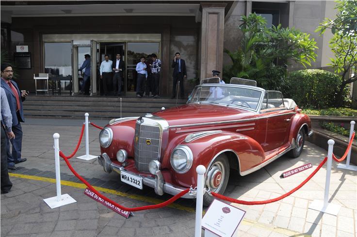 1956 Mercedes 300SC