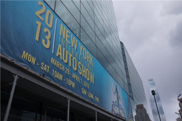The 113th New York motor show runs until April 7th