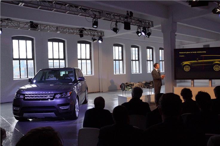 Land Rover's Premium Lightweight Architecture underpins the new Range Rover Sport
