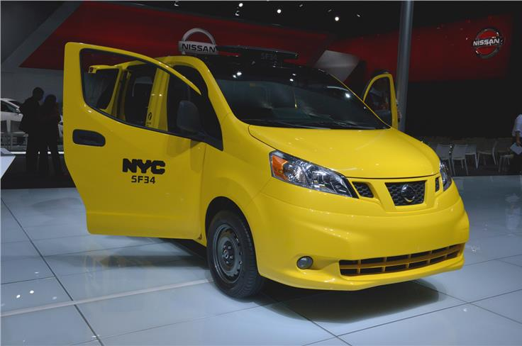 Nissan NV200 is now widely used as a taxi in New York