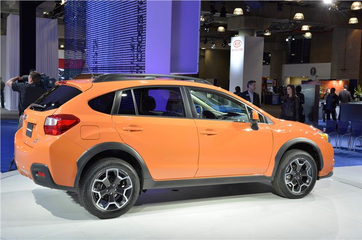 Subaru will launch an XV Hybrid at New York