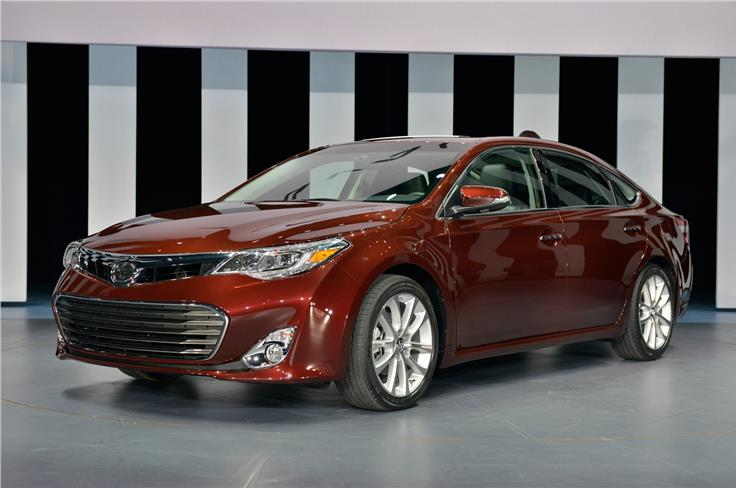 The Avalon is Toyota's flagship saloon in America