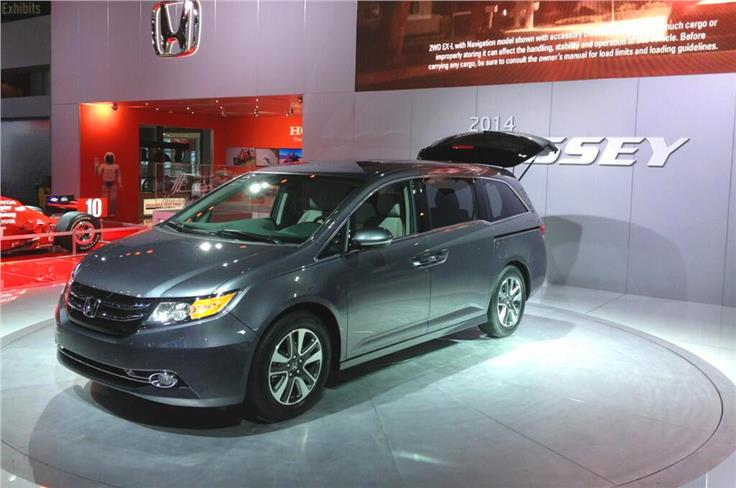 The revised Honda Odyssey MPV introduces new safety equipment and technology