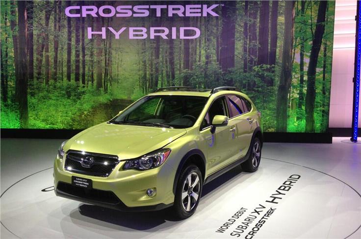 The XV Crosstrek Hybrid combines an electric motor and Subaru's 2.0-litre boxer engine