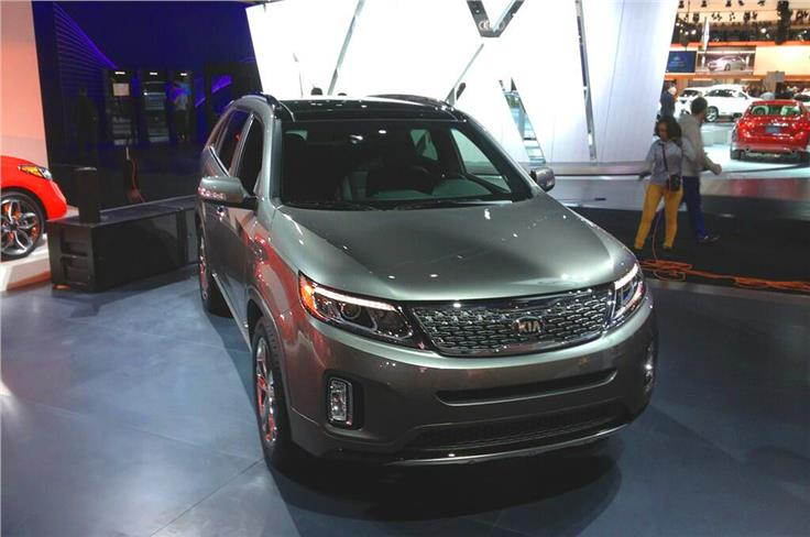 American Kia Sorentos are offered with two petrol engines including a 3.3-litre V6