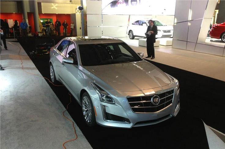 Cadillac's new CTS premiered at the NY Auto Show.