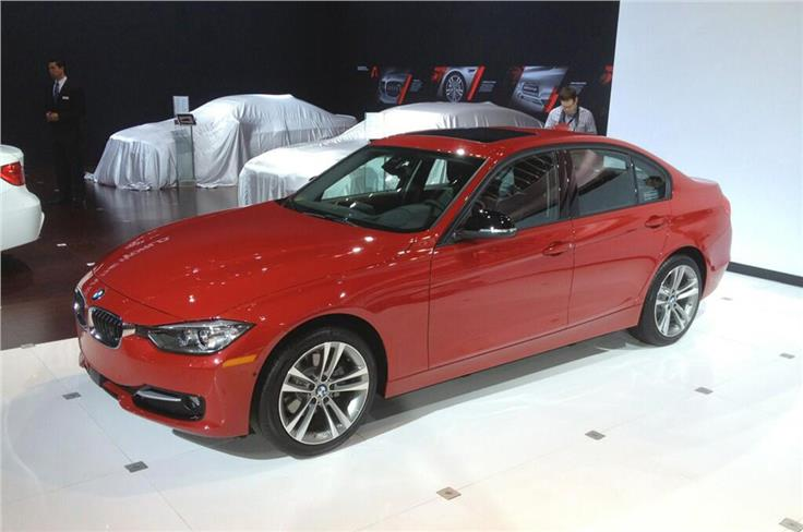 BMW took wraps of diesel 3-series for the US.