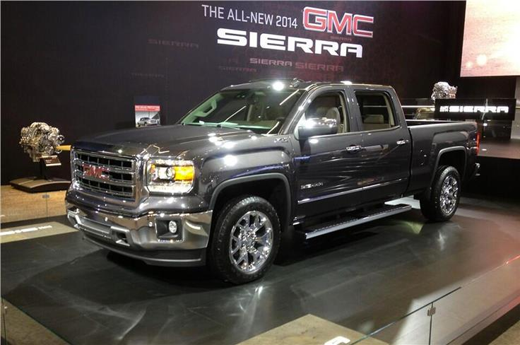 Pick-ups are still big business in the USA; this is the 2014 GMC Sierra