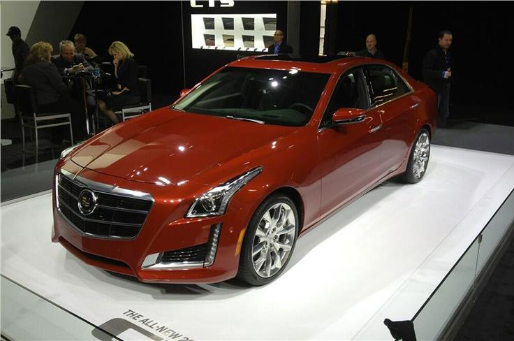 Latest Cadillac CTS takes design cues from the ELR coupe