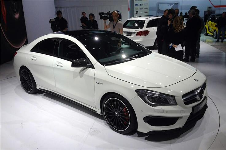The Mercedes CLA45 AMG will go up against Audi's S3 saloon