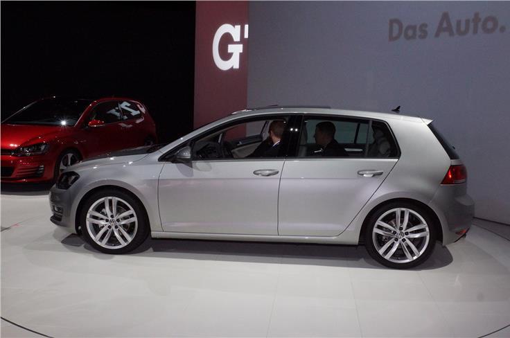 American sales of the Golf Mk 7 begin next year