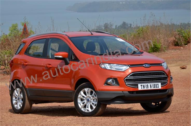 Ford EcoSport will be available with two petrol and one diesel engine option.
