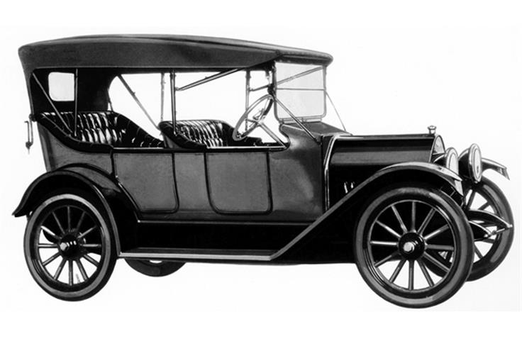 The Baby Grand was part of Chevrolet's Series H line