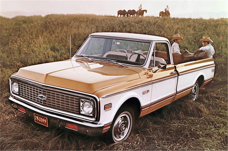 Chevvy quickly became known for its pick-up trucks, too