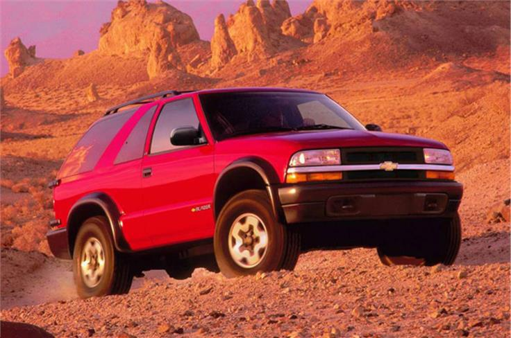 The Blazer was sold as the Tahoe from 1995