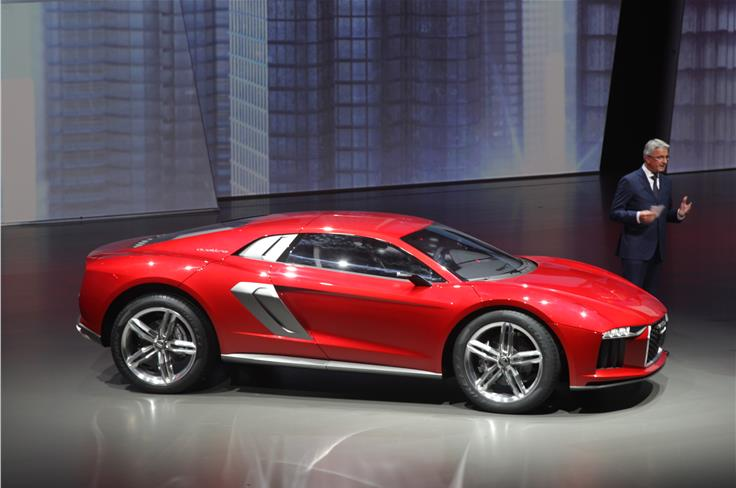 The diesel Audi Nanuk concept promises high performance pace on- and off-road.