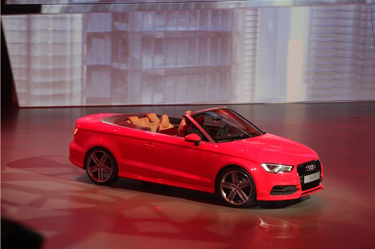 The Audi A3 cabriolet is larger, lighter and more fuel efficient than the model it replaces.
