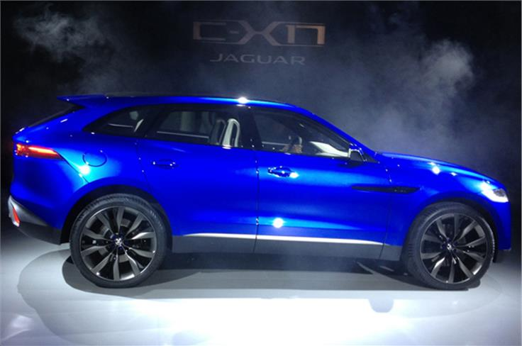 The Jaguar C-X17 was previously rumoured to be named the Q-type.