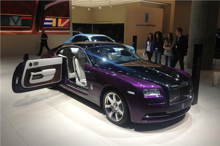 The Rolls Royce Celestial Phantom offers customers unique paintwork and special edition alloys among others.
