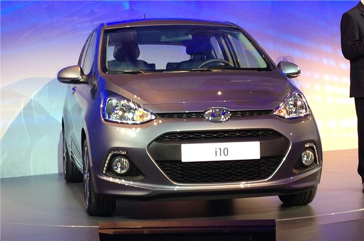 The all-new Hyundai i10 debuted at the show.
