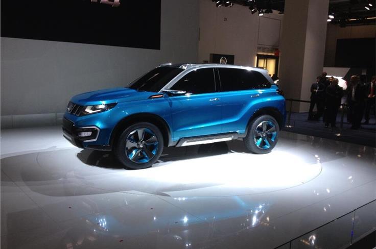 Suzuki unveiled the i-V4 compact SUV.
