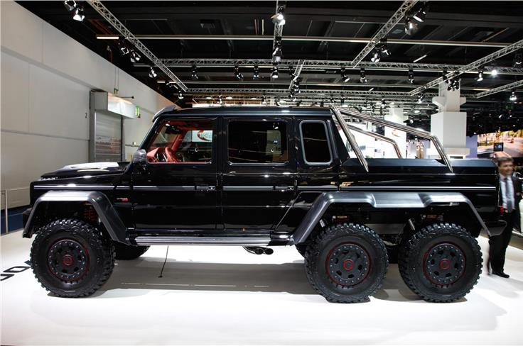 Brabus's new B63S-700 6x6 is a meatier version of Merc's G63 AMG 6x6.