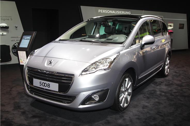 Peugeot has given out few details of the 5008 facelift so far.