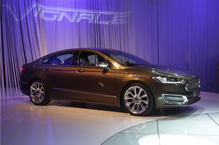 The Mondeo is set to usher in Ford's new, exclusive Vignale sub-brand.