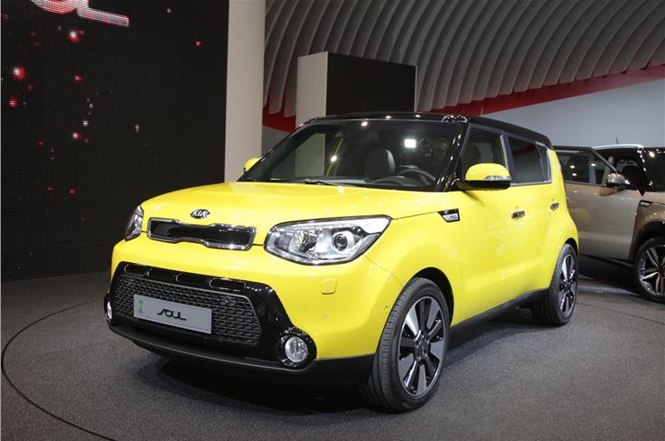Kia unveiled its second generation Soul.